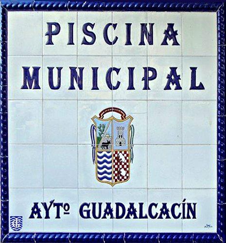 Azulejo piscina municipal jerezsiempre monumentos for Azulejos jerez de la frontera