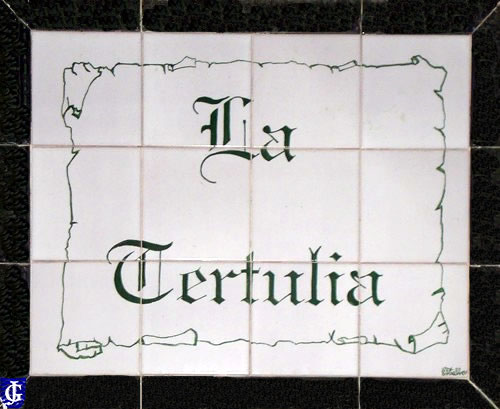 Azulejo bar la tertulia jerezsiempre monumentos for Azulejos jerez de la frontera