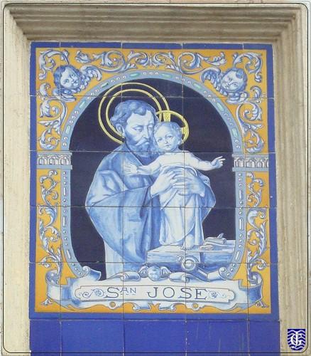 Azulejo san jos jerezsiempre monumentos historia for Azulejos jerez de la frontera