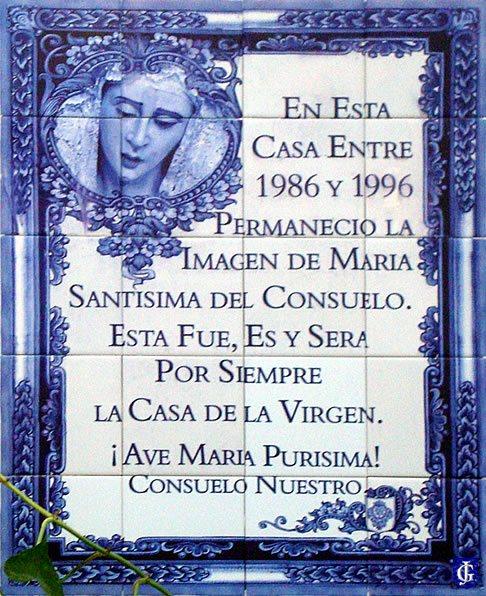 Azulejo en casa calle batalla de aina jerezsiempre for Azulejos jerez de la frontera
