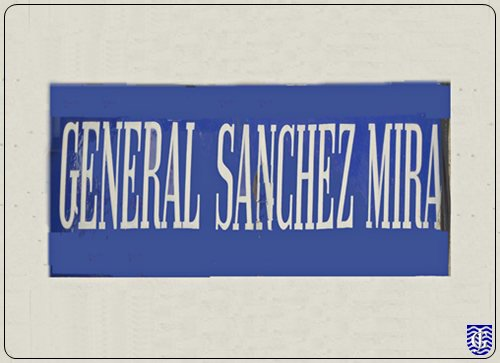 Calle general sanchez mira jerezsiempre monumentos - Rotulos sanchez ...