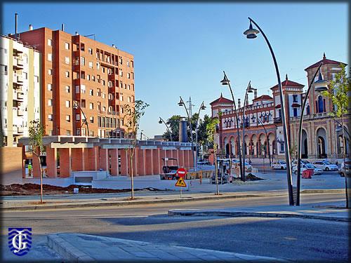 Plaza de la estaci n jerezsiempre monumentos for Plaza de la estacion fuenlabrada