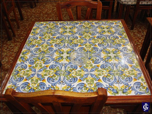 Azulejo restaurante casa pepa jerezsiempre monumentos for Restaurante azulejos