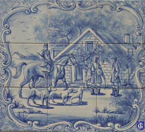 Azulejo en casa calle francos 41 jerezsiempre for Azulejos jerez de la frontera