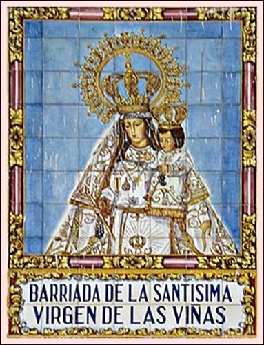Azulejos virgen de las vi as jerezsiempre monumentos for Azulejos jerez de la frontera
