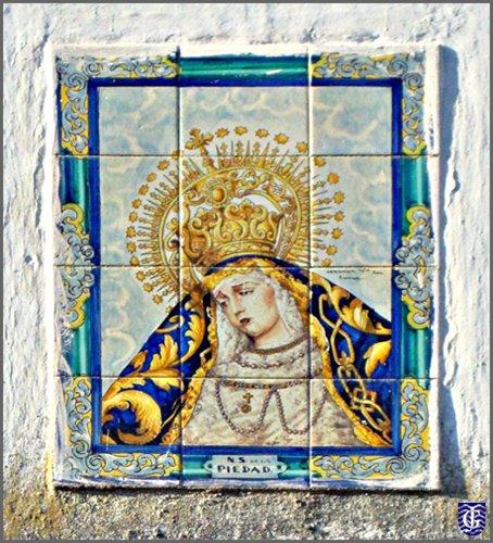 Azulejo calle virgen de la piedad jerezsiempre for Azulejos jerez de la frontera