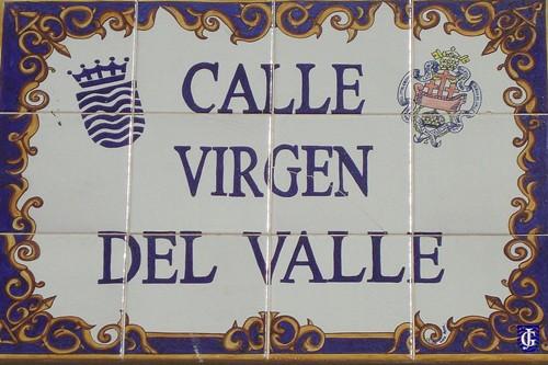 Azulejo calle virgen del valle jerezsiempre monumentos - Azulejos del valle ...