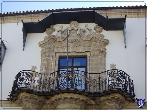 Balc n casa de la iglesia de asidonia jerezsiempre for Balcon in english