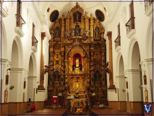 Altar Mayor Iglesia San Francisco en Jerez