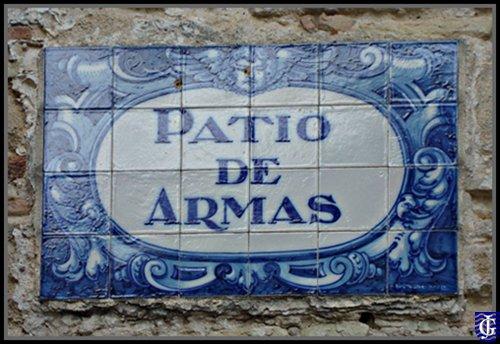 Azulejo patio de armas del alcazar jerezsiempre for Azulejos patio