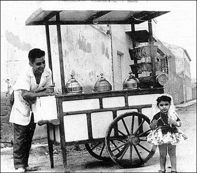 carrito venta helado: