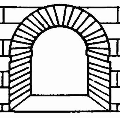 Arco abocinado jerezsiempre monumentos historia - Que es un porche en arquitectura ...